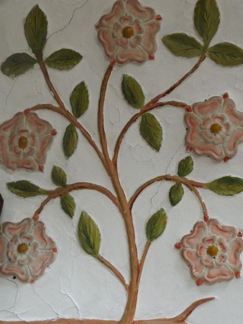 16th Century Flower Mural