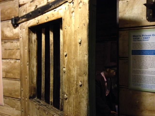 Men's Cell Door